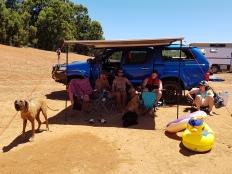 Camping Waroona Dam