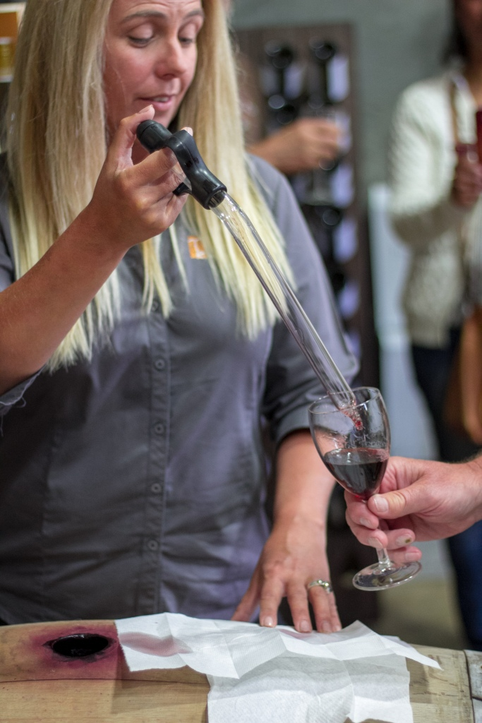 Thompson Estate Wine Tasting