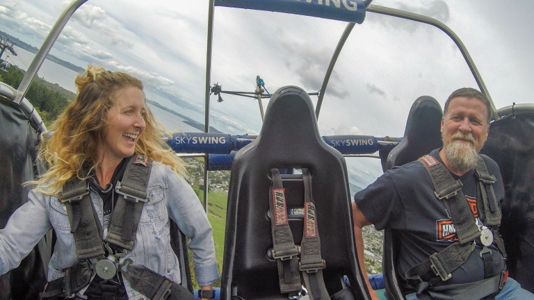 SkyLine SkySwing Rotorua