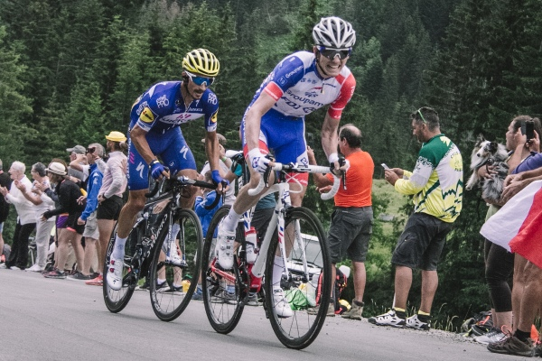 Stage 10 Tour de France Plateau des Glieres Race Leader